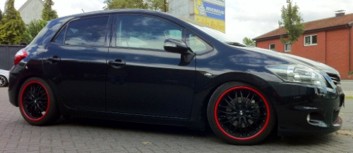 Toyota Auris- 19Zoll - Pure Sports KW Variante 1 Inox