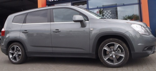 Chevrolet Orlando - 17Zoll - Spath SP15 anthrazit